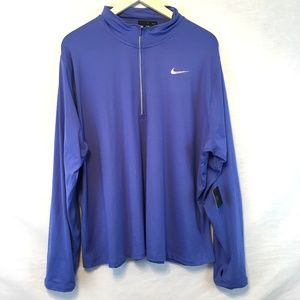 Nike Element 1/2 Zip Thumbhole Running Pullover 3X